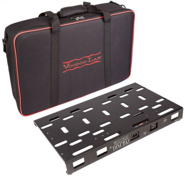 Pedal board flight pour effet Voodoo lab Dingbat Medium Pedalboard Power Package Pedal Power 2 Plus +Bag