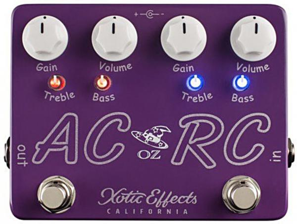 Pédale overdrive / distortion / fuzz Xotic Oz Noy AC/RC-OZ Ltd Boost/Overdrive
