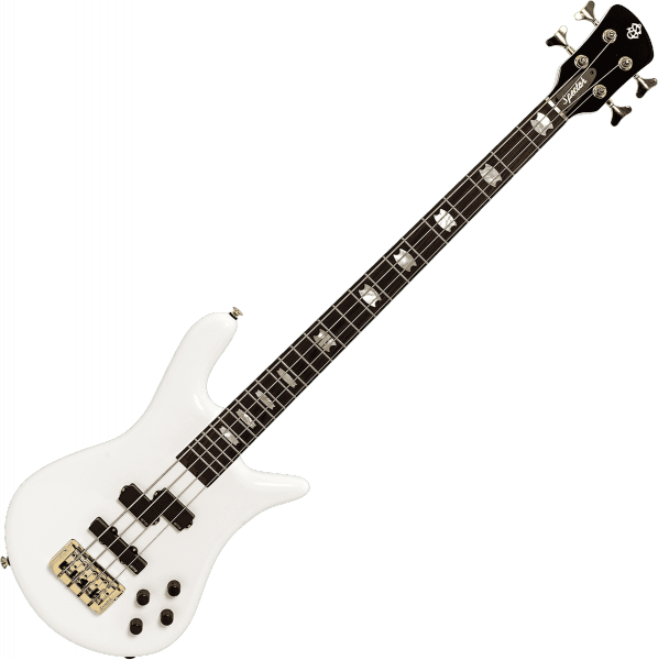 Basse électrique solid body Spector                        EURO SERIE CLASSIC 4 RW - Solid white gloss