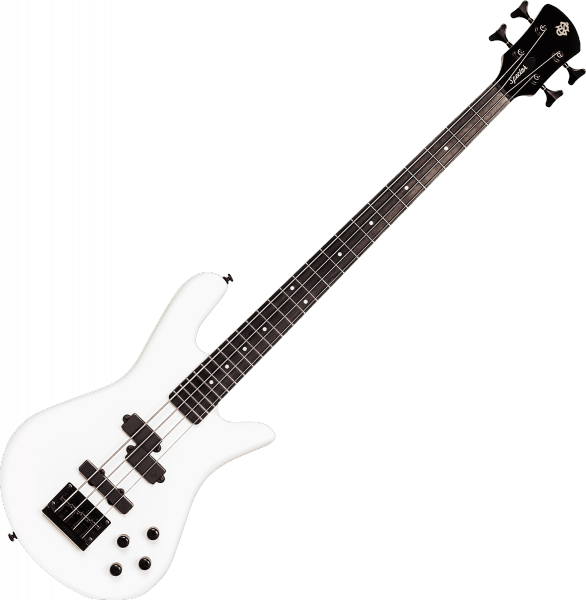 Basse électrique solid body Spector                        PERFORMER SERIE 4 - White