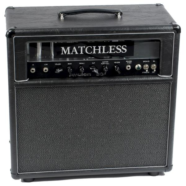 Combo ampli guitare électrique Matchless Avalon 30 112 Reverb - Black/Silver