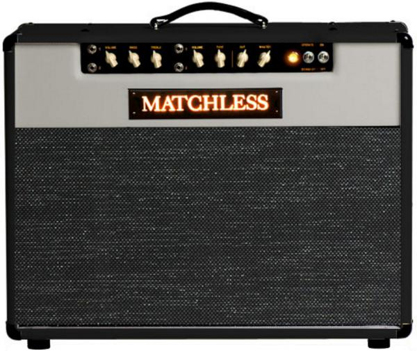 Combo ampli guitare électrique Matchless SC Mini - Black/Light Gray/Silver