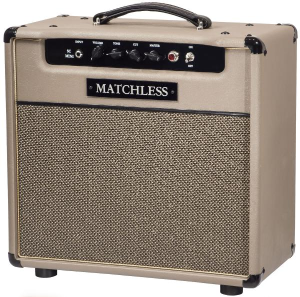 Combo ampli guitare électrique Matchless SC Mini - Cappuccino/Gold