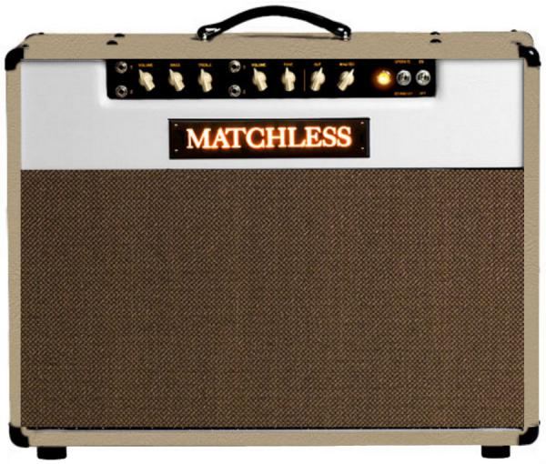Combo ampli guitare électrique Matchless SC Mini - Cream/Gold