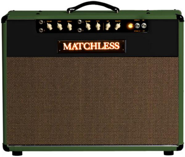 Combo ampli guitare électrique Matchless SC Mini - Green/Black/Gold