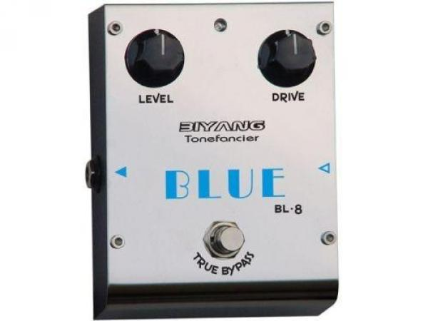 Pédale overdrive / distortion / fuzz Biyang BL8 Blues Overdrive