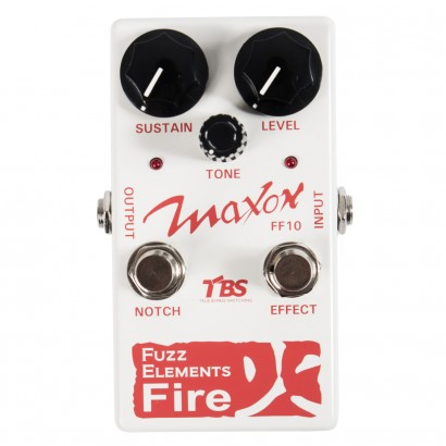 Pédale overdrive / distortion / fuzz Maxon FF10 Fuzz Elements Fire
