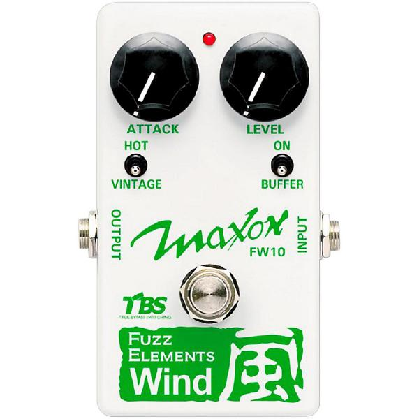 Pédale overdrive / distortion / fuzz Maxon FW10 Fuzz Elements Wind