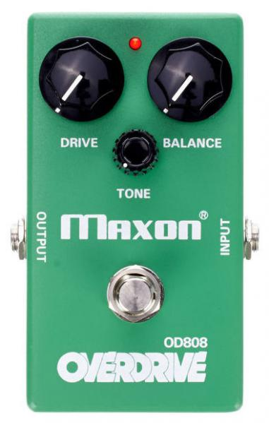 Pédale overdrive / distortion / fuzz Maxon OD-808 Overdrive