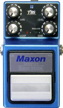 Pédale overdrive / distortion / fuzz Maxon SM9 PRO+ Super Metal