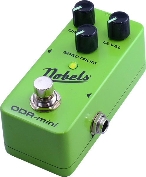 Pédale overdrive / distortion / fuzz Nobels                         ODR-MINI OVERDRIVE