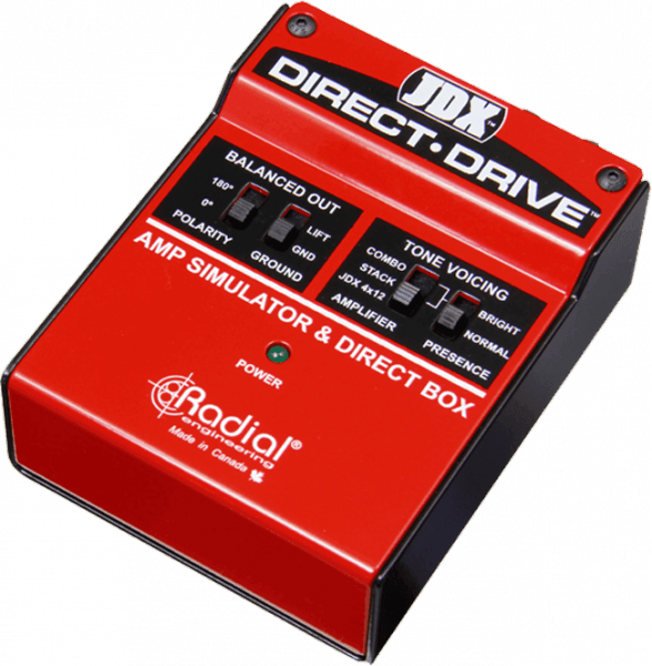 Boitier direct / di Tonebone                       JDX Direct Drive