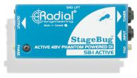 Boitier direct di Radial StageBug SB-1 Active