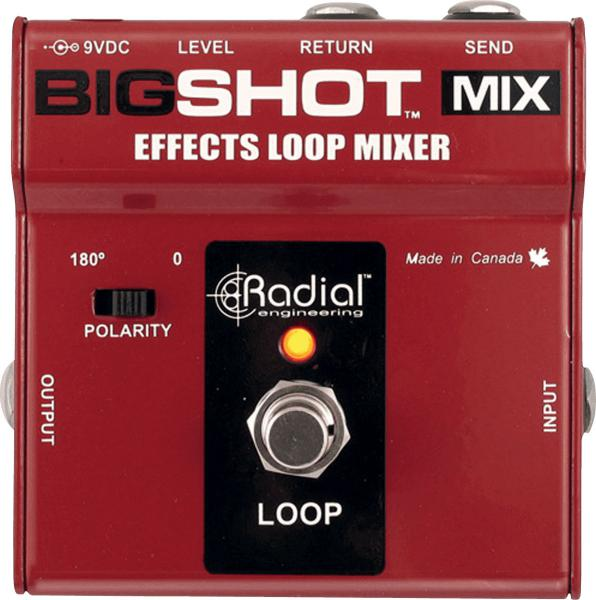 Footswitch & commande divers Tonebone                       BigShot Mix (Effects Loop)