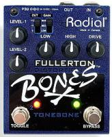 Pédale overdrive / distortion / fuzz Radial Tonebone Bones Fullerton Distorsion