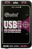 Boitier direct di Radial USB-Pro