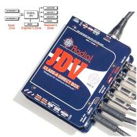 Boitier direct di Radial J-Class JDV Mk3 Super DI