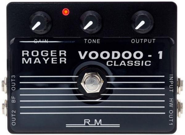 Pédale overdrive / distortion / fuzz Roger mayer Voodoo-1 Classic