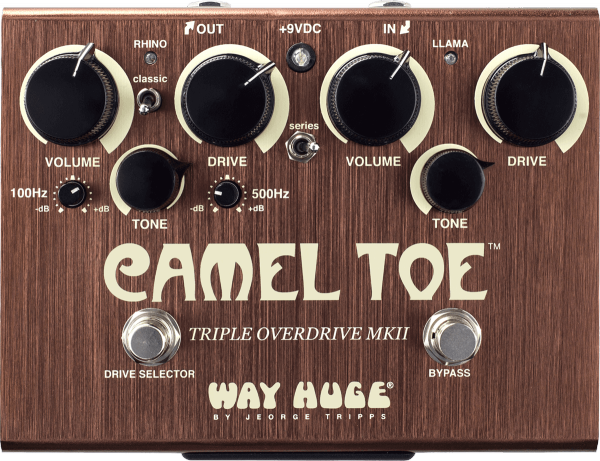 Pédale overdrive / distortion / fuzz Way huge Camel Toe Triple Overdrive MkII