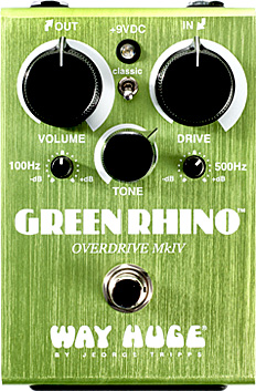 Pédale overdrive / distortion / fuzz Way huge WHE207 Green Rhino Overdrive MKIV
