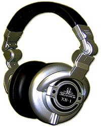 Casque studio & dj Equation audio                 XB-1 - Silver