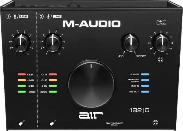 Carte son usb M-audio AIR192X6