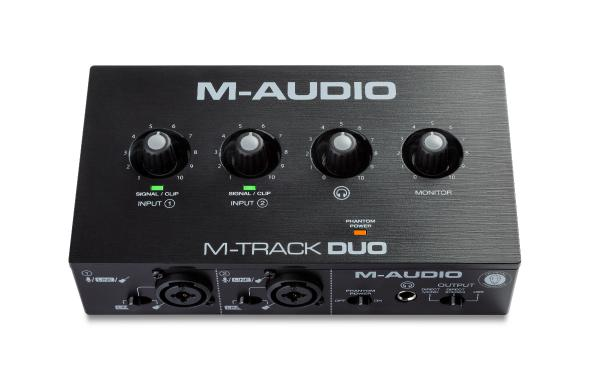 Carte son usb M-audio M-Track Duo