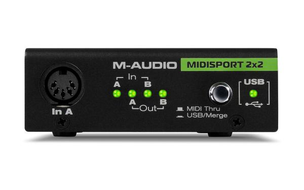 Interface midi M-audio Midisport 2x2