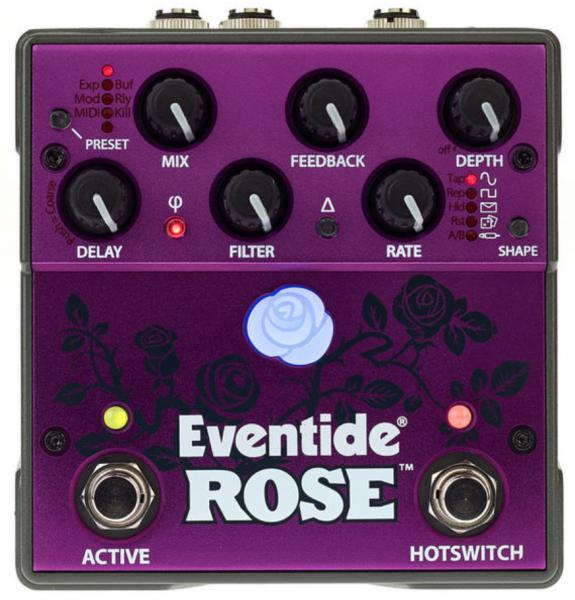 Pédale reverb / delay / echo Eventide Rose Modulated Delay