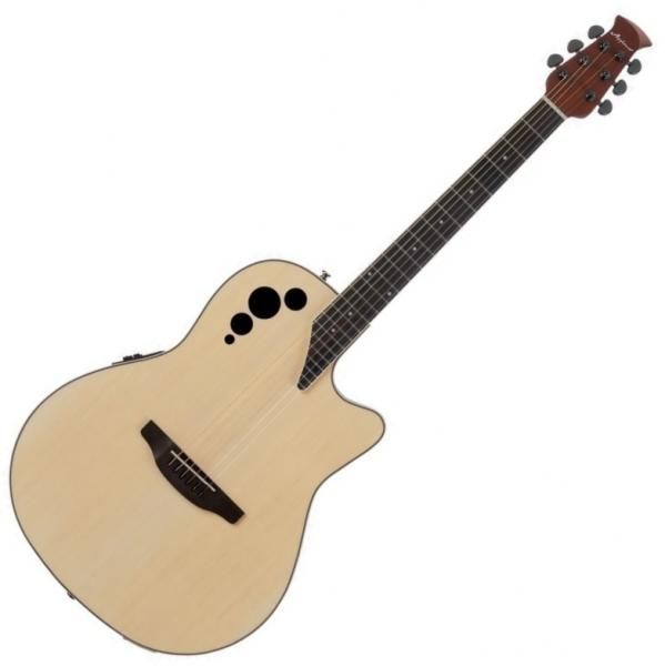 Guitare folk & electro Applause AE44II Mid Cutaway - Natural