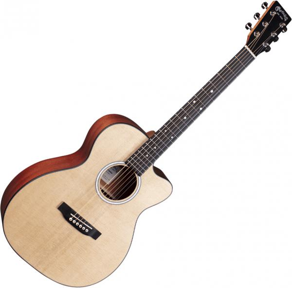 Guitare acoustique voyage Martin 000CJr-10E +Bag - Natural satin