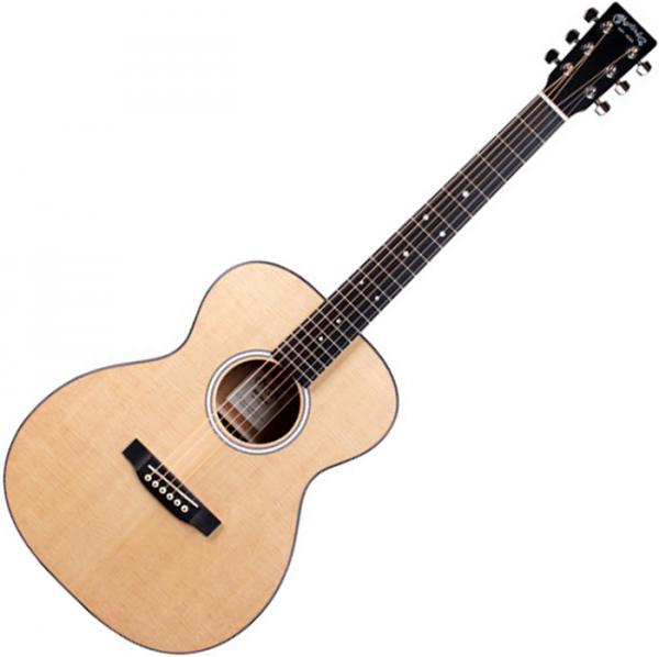 Guitare acoustique voyage Martin 000Jr-10 +Bag - Natural satin