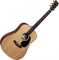 Guitare folk Martin guitar D-10E Road +Bag - Natural satin
