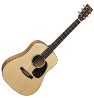 Guitare folk voyage Martin guitar D JR. E - Natural satin