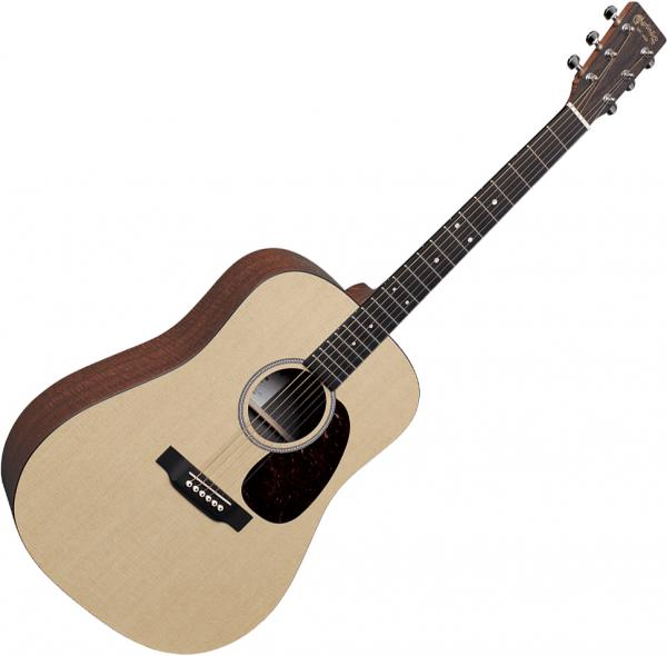 Guitare folk & electro Martin D-X1E +Bag - Natural