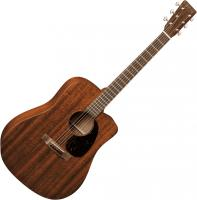 Guitare folk voyage Martin guitar DC-15ME - Natural