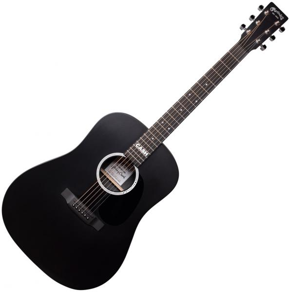 Guitare folk & electro Martin Johnny Cash DX - Black