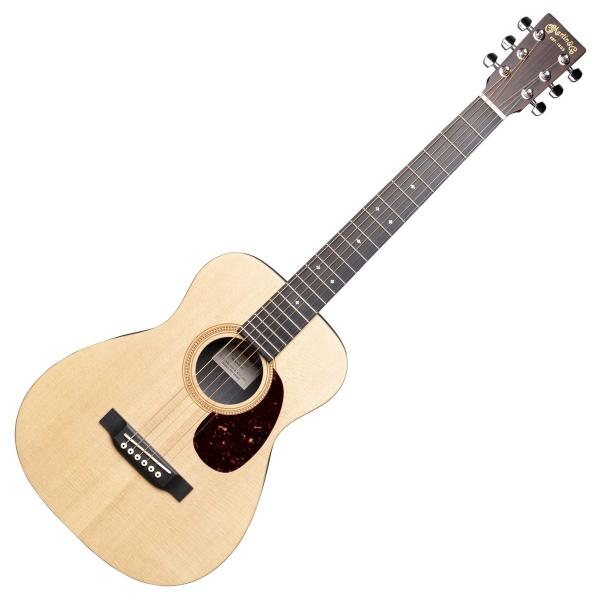Guitare acoustique voyage Martin LX1RE Little Martin +Bag - Natural satin