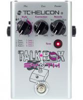 Pédale chorus / flanger / phaser / modul. / trem. Tc-helicon Talkbox Synth