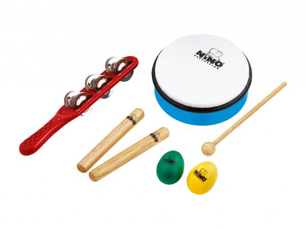 Set percussion enfants Nino percussion                Nino Set 3 Rhythm Set