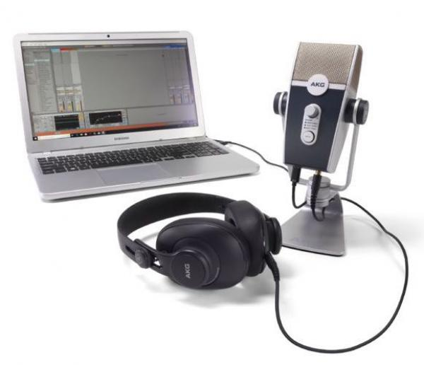 Microphone usb podcast radio Akg Podcaster Essentials Bundle