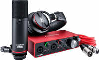 Pack home studio Focusrite Scarlett 3 Studio