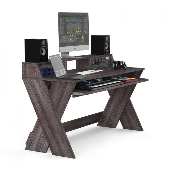 Station de travail studio Glorious Sound Desk Pro Walnut