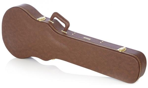 Etui guitare électrique Gator GW-LP-BROWN Gibson Les Paul® Deluxe Wood Case