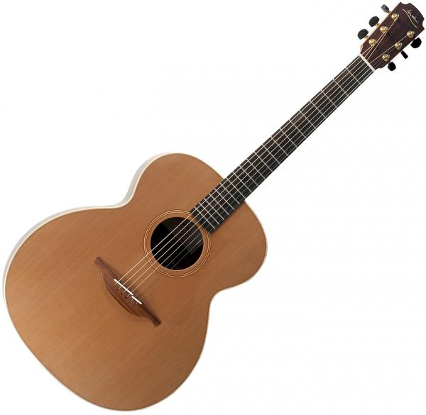 Guitare folk & electro Lowden O23 CW/C (020104) - Natural satin