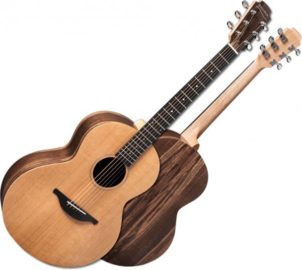 Guitare folk & electro Sheeran by lowden S01 +Bag - Natural satin