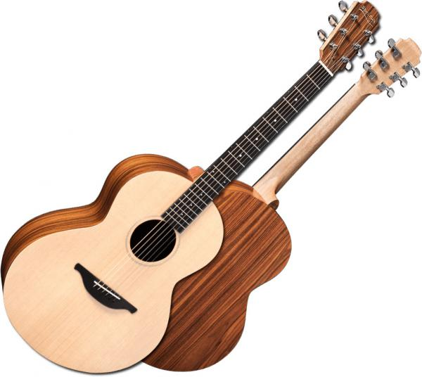 Guitare folk & electro Sheeran by lowden S02 +Bag - Natural satin
