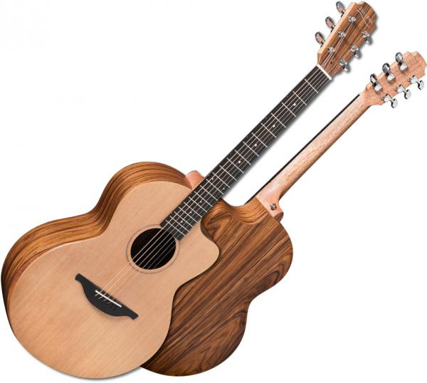 Guitare folk & electro Sheeran by lowden S03 +Bag - Natural satin