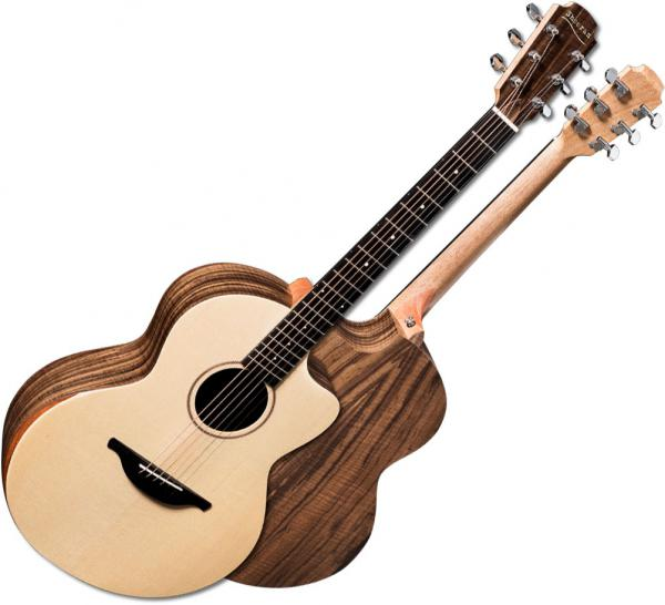 Guitare folk & electro Sheeran by lowden S04 +Bag - Natural satin