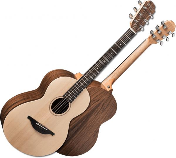 Guitare folk & electro Sheeran by lowden W04 +Bag - Natural satin
